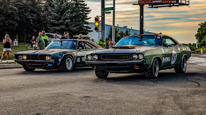 Roadkill Closes Down Woodward Ave For A Day Of Racing
