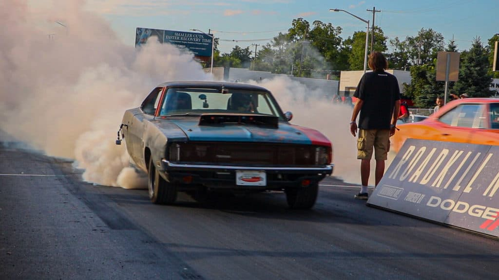 Roadkill Nights ~ Drag Racing on Woodward Ave