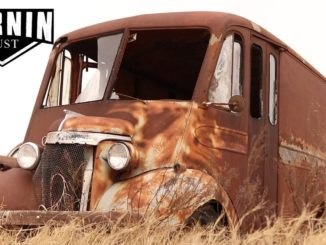 Turnin Rust Finds Extremely Rare 1940 Chevrolet Dubl-Duti Milk Truck