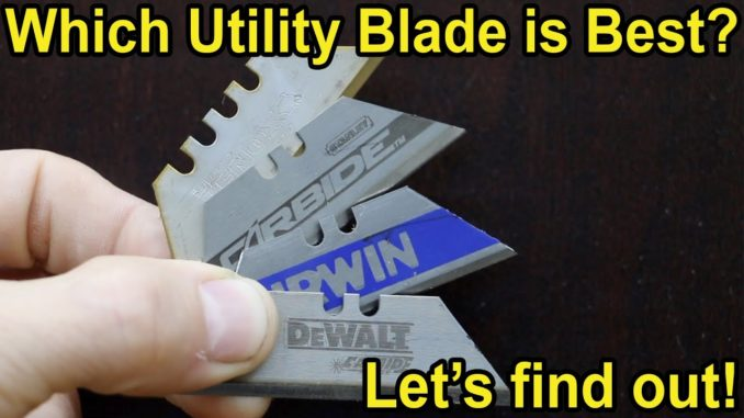 Which utility blade is best?