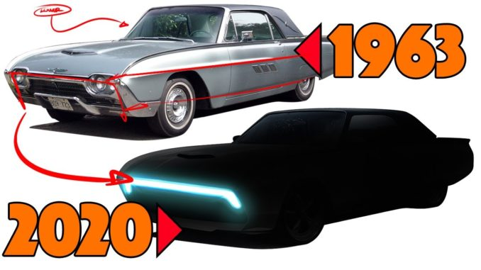 1963 Ford Thunderbird Redesign ~ What if Ford built it in 2020?
