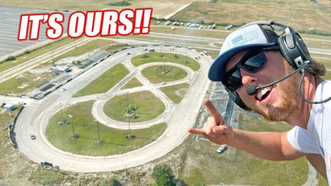 Cleetus McFarland Buys An Abandoned Racetrack