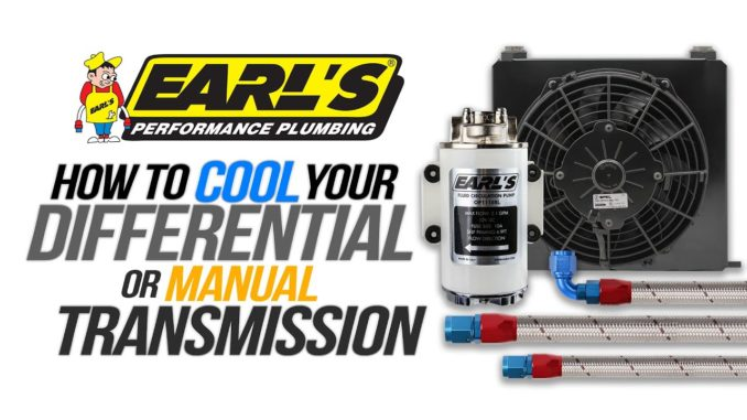 Earl's Differential and Manual Transmission Cooling Systems