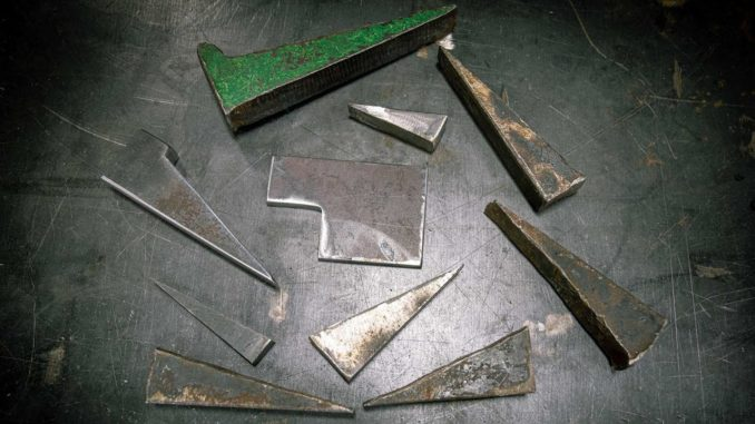 Essential Fabrication Tools ~ Plate Dog and Wedge
