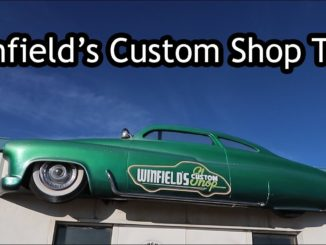 Gene Winfield's Custom Shop Tour