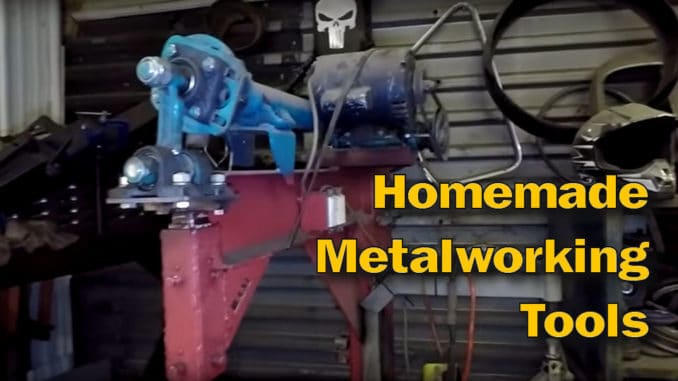 Homemade Metal Working Tools by Halfass Kustoms
