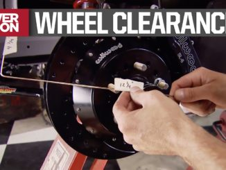 How To Determine Suspension, Brake, and Wheel Clearance