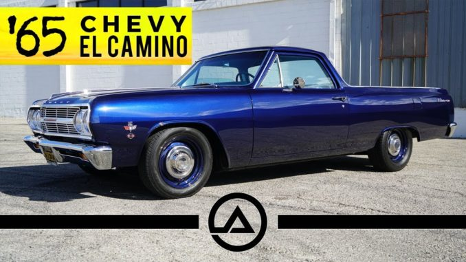 Old School 1965 Chevy El Camino