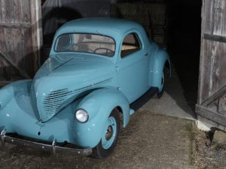 One-Owner 1937 Willys Coupe Parked Since 1968 Gets Full Restoration