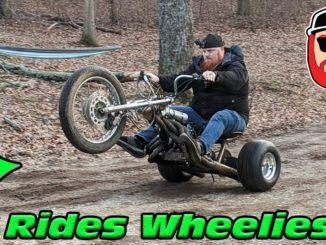 Rat Rod Header 125cc Mini-Bike Trike Rides Wheelies