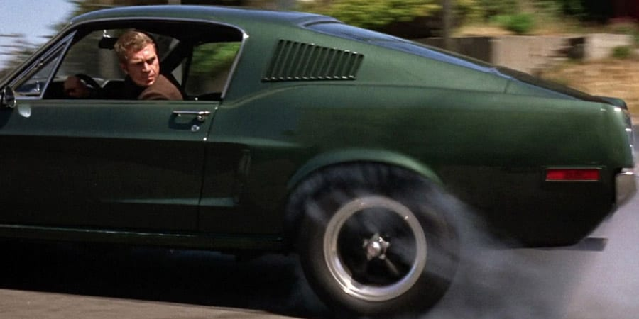 Steve McQueens Bullitt Mustang Movie Car
