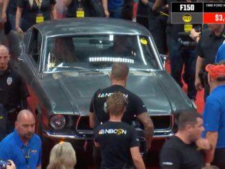The Steve McQueen Bullitt Mustang Movie Car