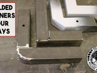 4 Different Ways To Cut and Weld Box Tube Corners