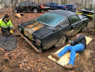 1966 Shelby Mustang GT350H Found in Ohio Backyard After 40 Years