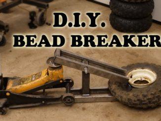 DIY Tire Bead Breaker from Scrap Metal and Floor Jack