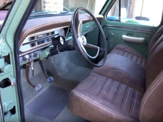 Ford F100 Interior Makeover
