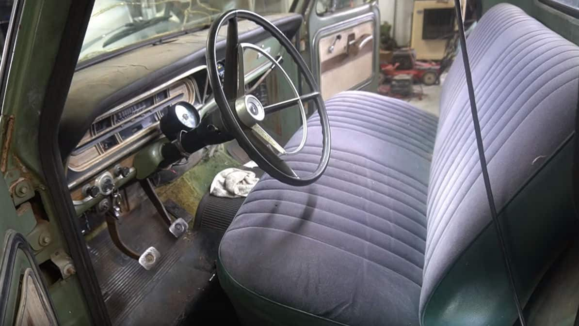 Ford F100 Interior Makeover ~ Before