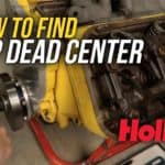 How To Find Top Dead Center