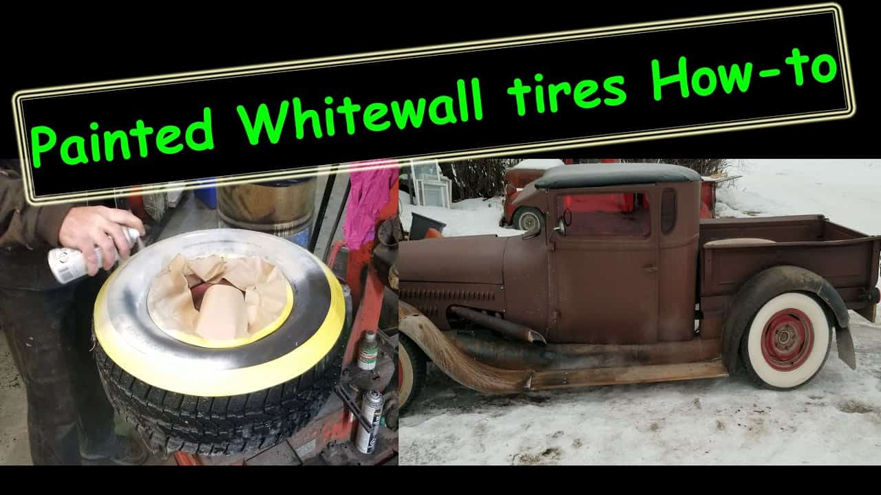 How To Paint Whitewall Tires