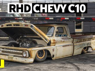 Pure Patina and Right Hand Drive, This '64 C10 Blows Our Minds