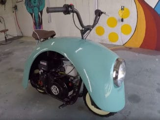 Volkswagen Inspired Mini Bike Build
