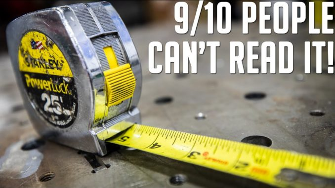 Can you REALLY Read a Tape Measure?