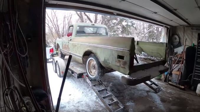 Bringing an Abandoned C10 Project Back from the Dead