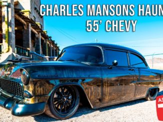 Charlie Manson's Haunted CTSV Powered '55 Chevy