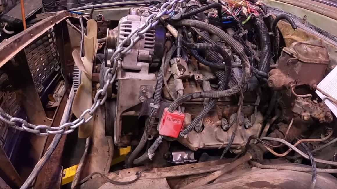 Budget LS Swapping a Chevy C10 ~ Mounting and Wiring Made Easy