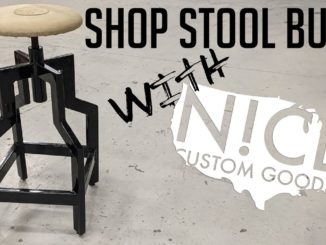DIY Shop Stool Build ~ Step by Step Instructions