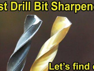 Drill Bit Sharpeners