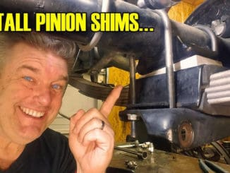How To Install Pinion Shims in your Classic Car