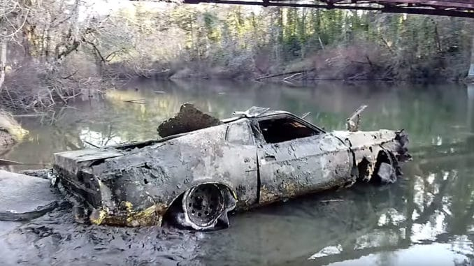 Missing '73 Ford Mustang Mach 1 Found 40 Years Later
