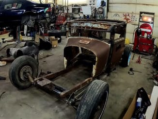 Old School Model T Chassis
