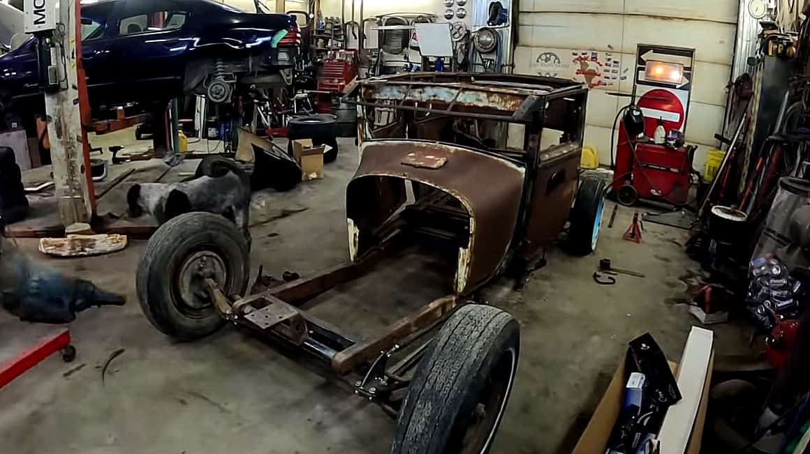 Old School Model T Chassis Build
