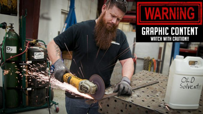 Grinder Safety ~ How to Properly Use an Angle Grinder + FAILS!