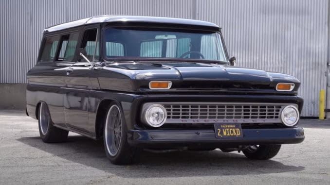 570hp LS3 Swapped '64 Chevy Suburban Hot Rod