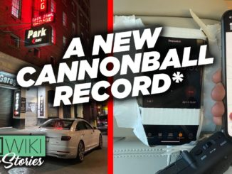 A New Cannonball Record