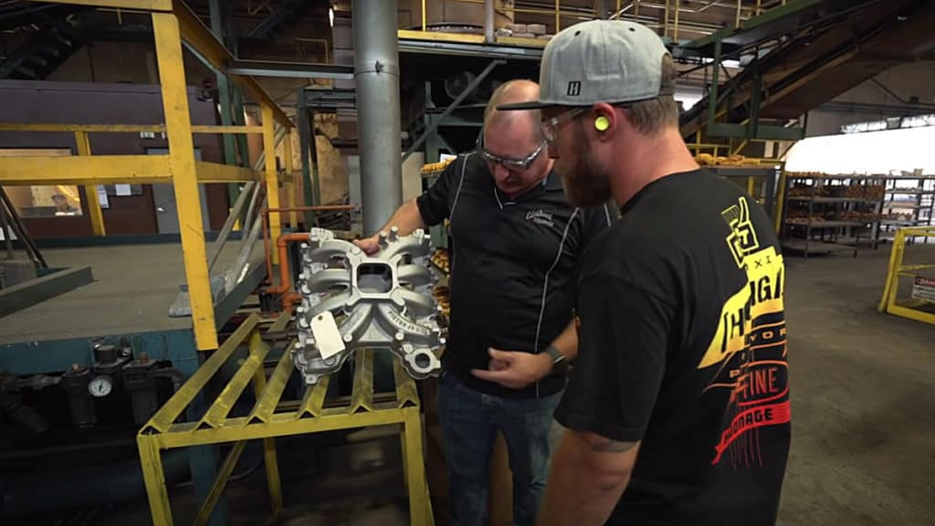 Edelbrock's Southern California Casting Foundry Tour
