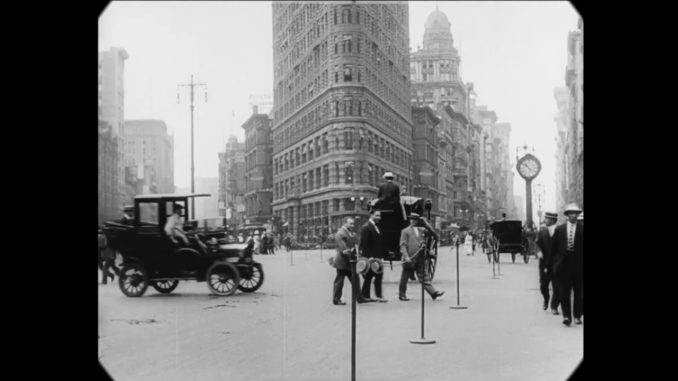 New York City in 1911