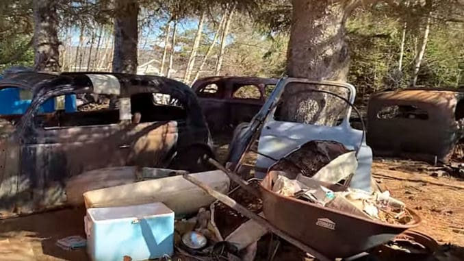 Bad Chad's Junkyard of Future Dream Cars