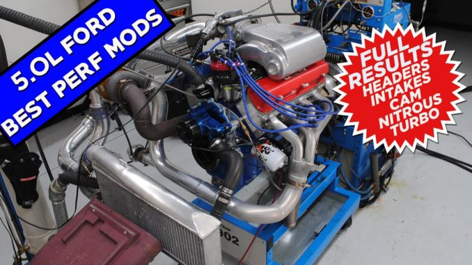 Modified 5.0L Ford Engine