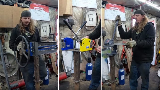 DIY Multi-Use Tool Stand for Metalworking Tools