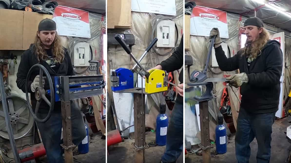 DIY Multi-Use Tool Stand for Basic Metalworking Tools