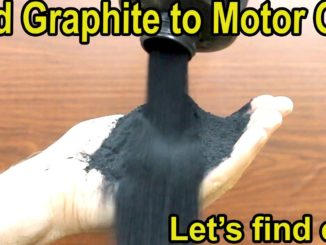 Graphite Motor Oil