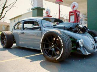 HEMI-Powered VW Beetle
