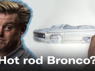 Hot Rod Bronco designed by Chip Foose