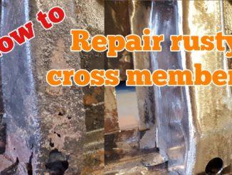 How To Repair Rusty Floor Cross Members