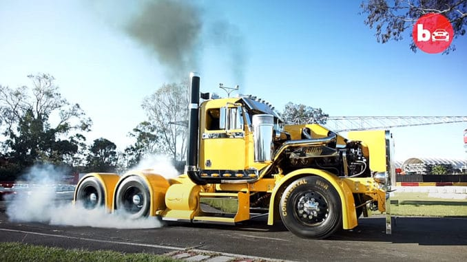Filthy ~ A 900HP Custom Burnout Truck