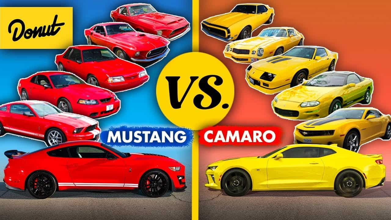 Mustang vs Camaro ~ Who Won Each Decade from the 60s to Today